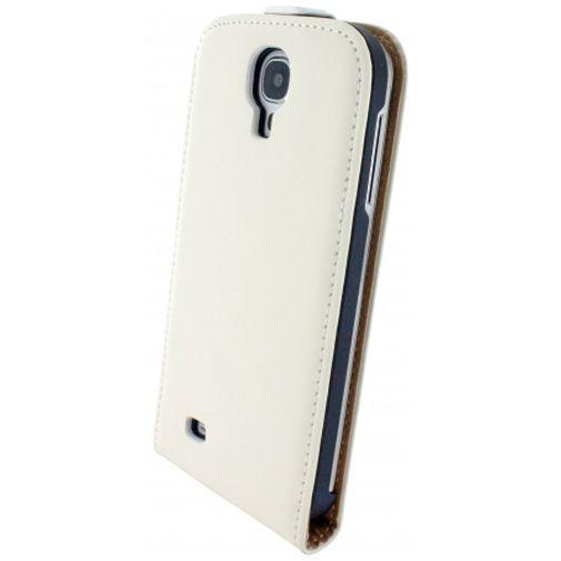 Productafbeelding van de Mobiparts Premium Flip Case White Samsung Galaxy S4
