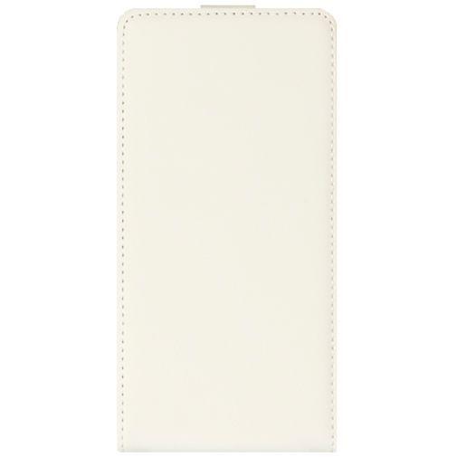 Productafbeelding van de Mobiparts Premium Flip Case White Sony Xperia E3