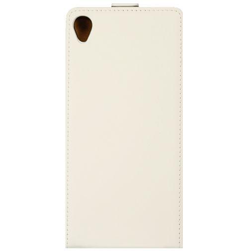 Productafbeelding van de Mobiparts Premium Flip Case White Sony Xperia Z3
