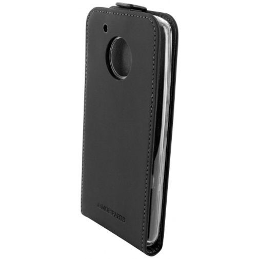 Productafbeelding van de Mobiparts Premium Flip TPU Case Black Motorola Moto G5