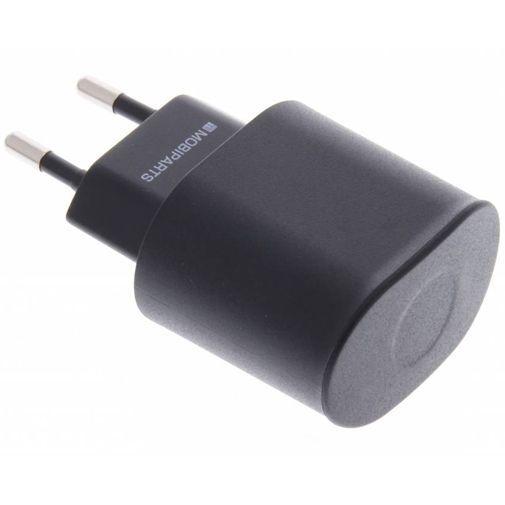 Productafbeelding van de Mobiparts Premium Reislader Dual USB 2.1A Black