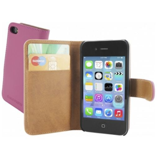 Productafbeelding van de Mobiparts Premium Wallet Case Apple iPhone 4/4S Pink