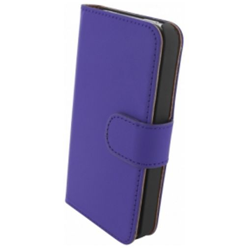 Productafbeelding van de Mobiparts Premium Wallet Case Apple iPhone 4/4S Purple