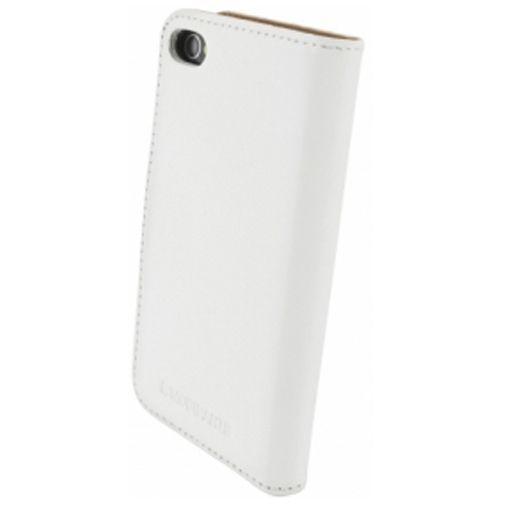 Productafbeelding van de Mobiparts Premium Wallet Case Apple iPhone 4/4S White