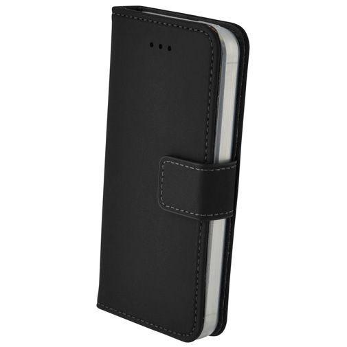 Productafbeelding van de Mobiparts Premium Wallet Case Apple iPhone 5/5S/SE Black