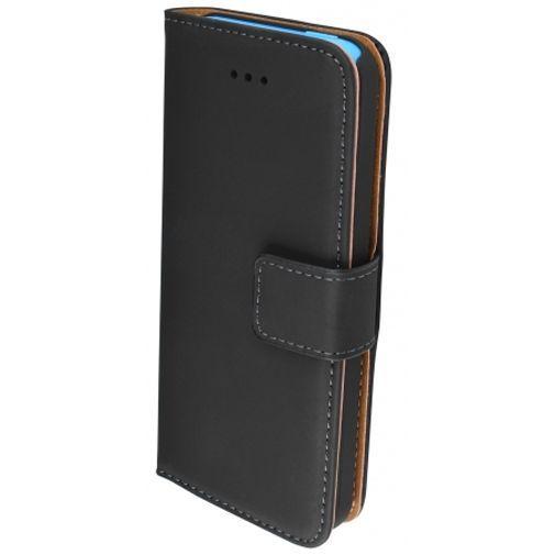 Productafbeelding van de Mobiparts Premium Wallet Case Black Apple iPhone 5C