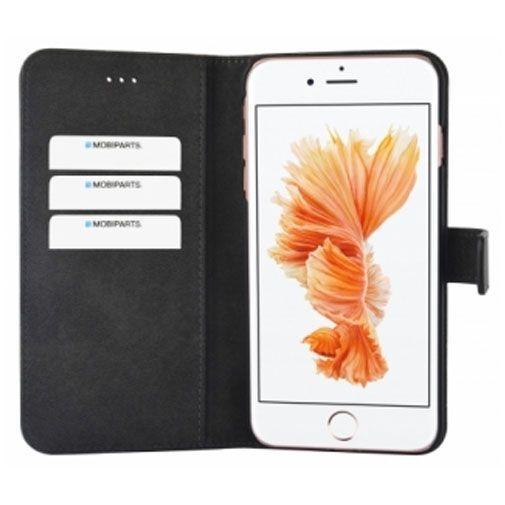 Productafbeelding van de Mobiparts Premium Wallet Case Black Apple iPhone 7 Plus/8 Plus
