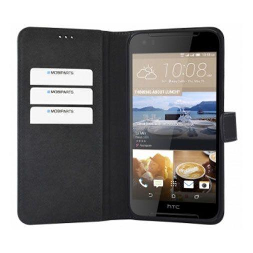 Productafbeelding van de Mobiparts Premium Wallet Case Black HTC Desire 830