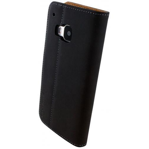 Productafbeelding van de Mobiparts Premium Wallet Case Black HTC One M9 (Prime Camera Edition)