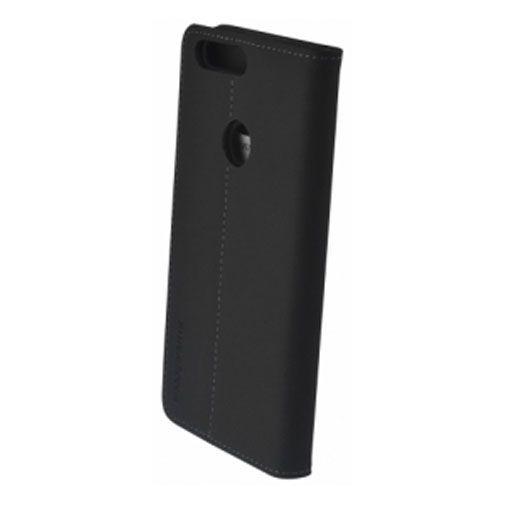 Productafbeelding van de Mobiparts Premium Wallet Case Black Honor 8