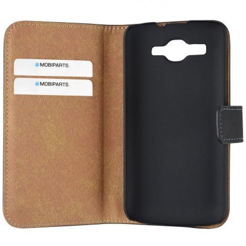 Productafbeelding van de Mobiparts Premium Wallet Case Black Huawei Ascend Y540 Dual Sim