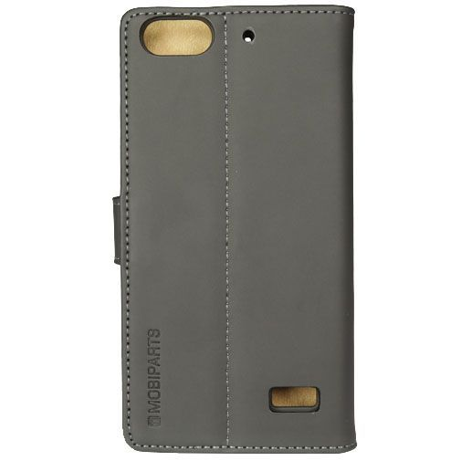 Productafbeelding van de Mobiparts Premium Wallet Case Black Huawei G Play Mini
