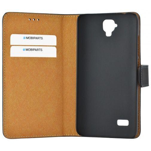 Productafbeelding van de Mobiparts Premium Wallet Case Black Huawei Y5