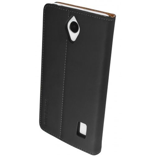 Productafbeelding van de Mobiparts Premium Wallet Case Black Huawei Y635