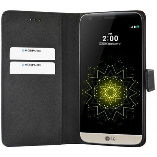 Productafbeelding van de Mobiparts Premium Wallet Case Black LG G5 (SE)