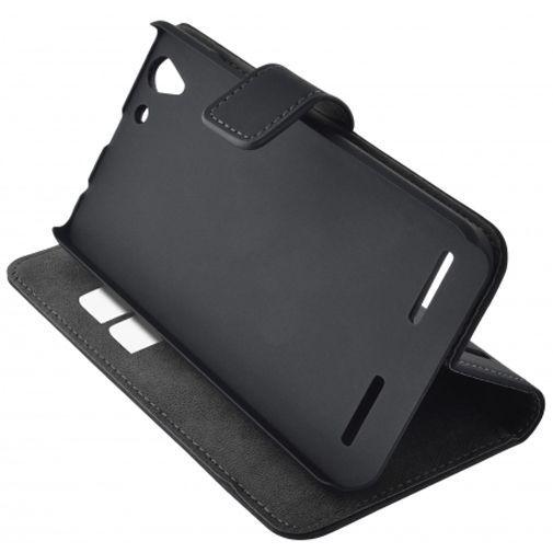 Productafbeelding van de Mobiparts Premium Wallet Case Black Lenovo K5