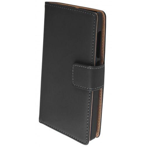 Productafbeelding van de Mobiparts Premium Wallet Case Black Microsoft Lumia 532