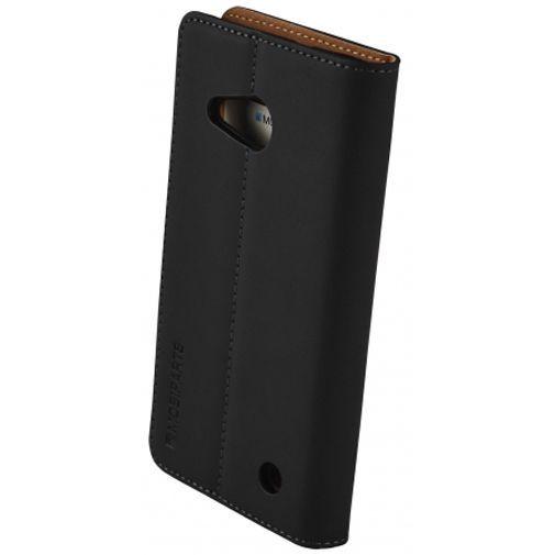 Mobiparts Premium Wallet Case Black Microsoft Lumia 550