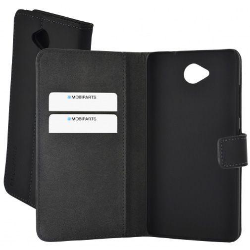 Productafbeelding van de Mobiparts Premium Wallet Case Black Microsoft Lumia 650