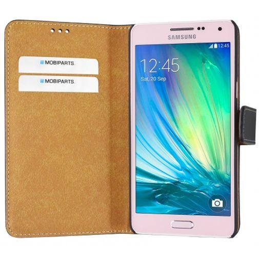 Productafbeelding van de Mobiparts Premium Wallet Case Black Samsung Galaxy A5