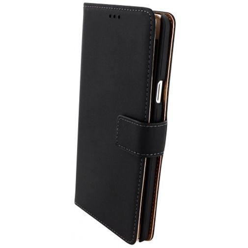Productafbeelding van de Mobiparts Premium Wallet Case Black Samsung Galaxy A7
