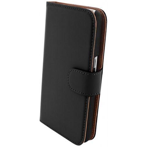 Productafbeelding van de Mobiparts Premium Wallet Case Black Samsung Galaxy Core 2