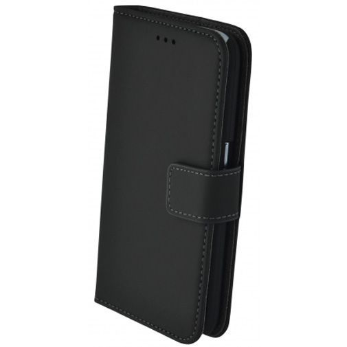 Productafbeelding van de Mobiparts Premium Wallet Case Black Samsung Galaxy J1 (2016)