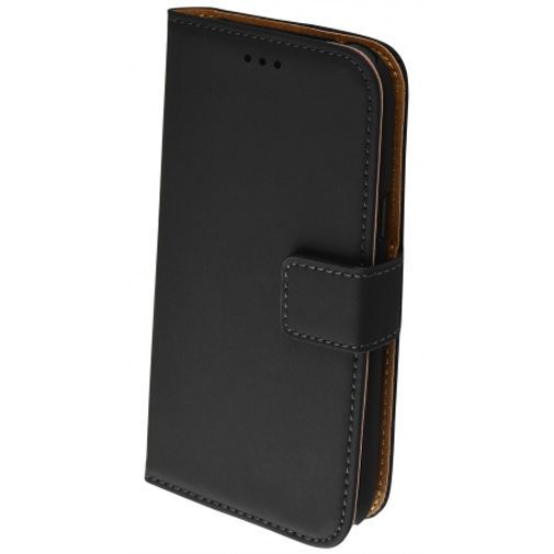 Productafbeelding van de Mobiparts Premium Wallet Case Black Samsung Galaxy J1