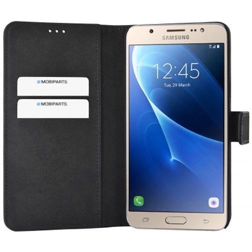 Productafbeelding van de Mobiparts Premium Wallet Case Black Samsung Galaxy J7 (2016)