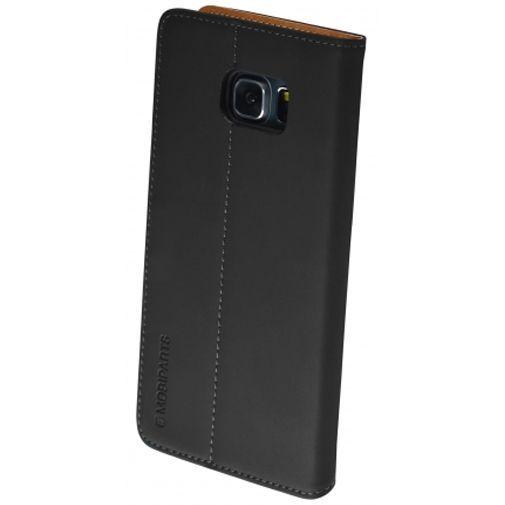 Productafbeelding van de Mobiparts Premium Wallet Case Black Samsung Galaxy S6 Edge Plus