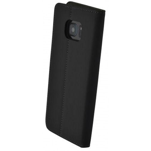 Productafbeelding van de Mobiparts Premium Wallet Case Black Samsung Galaxy S7 Edge