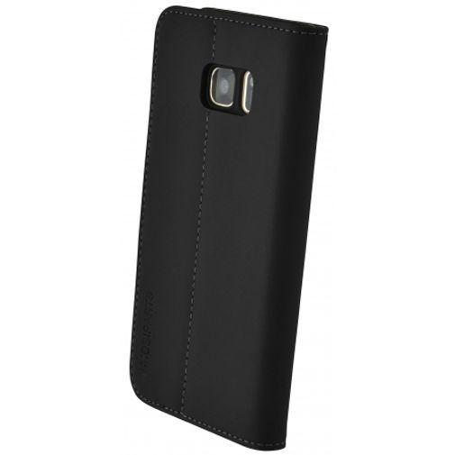 Productafbeelding van de Mobiparts Premium Wallet Case Black Samsung Galaxy S7