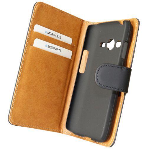Mobiparts Premium Wallet Case Black Samsung Galaxy Trend 2