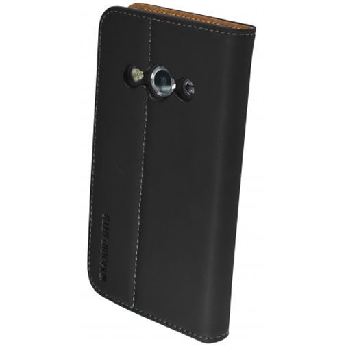 Productafbeelding van de Mobiparts Premium Wallet Case Black Samsung Galaxy Xcover 3 (VE)