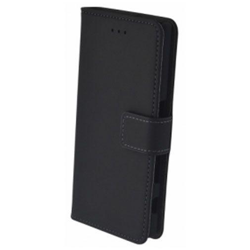 Productafbeelding van de Mobiparts Premium Wallet Case Black Sony Xperia X Compact