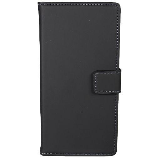 Productafbeelding van de Mobiparts Premium Wallet Case Black Sony Xperia XA