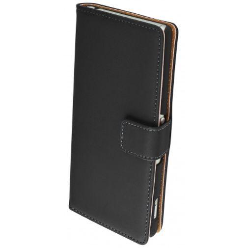 Productafbeelding van de Mobiparts Premium Wallet Case Black Sony Xperia Z3 (Plus)