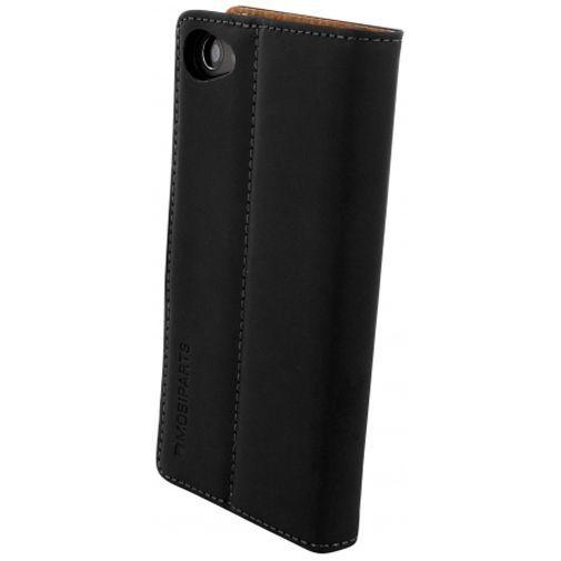 Productafbeelding van de Mobiparts Premium Wallet Case Black Sony Xperia Z5 Compact