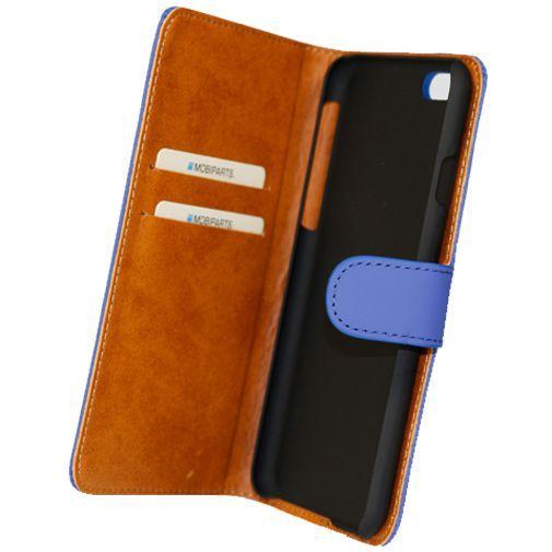 Productafbeelding van de Mobiparts Premium Wallet Case Blue Apple iPhone 6/6S