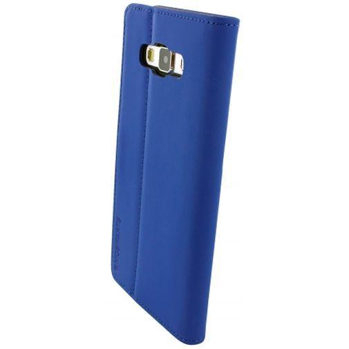 Productafbeelding van de Mobiparts Premium Wallet Case Blue Samsung Galaxy A7