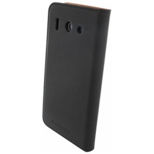 Productafbeelding van de Mobiparts Premium Wallet Case Huawei Ascend G510 Black