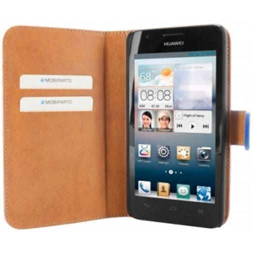 Productafbeelding van de Mobiparts Premium Wallet Case Huawei Ascend G510 Blue