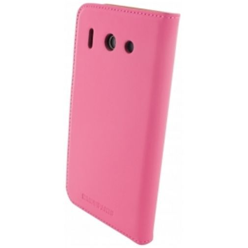 Productafbeelding van de Mobiparts Premium Wallet Case Huawei Ascend G510 Pink