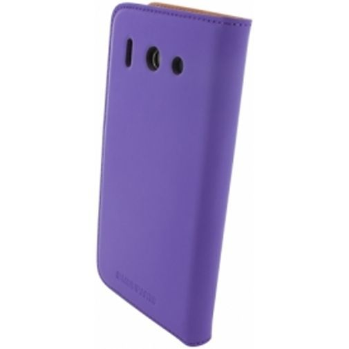 Productafbeelding van de Mobiparts Premium Wallet Case Huawei Ascend G510 Purple