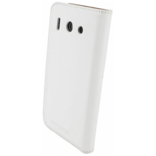 Productafbeelding van de Mobiparts Premium Wallet Case Huawei Ascend G510 White