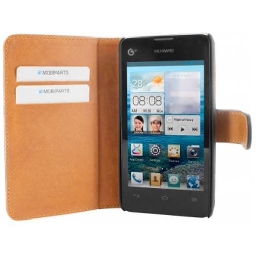 Productafbeelding van de Mobiparts Premium Wallet Case Huawei Ascend Y300 Black