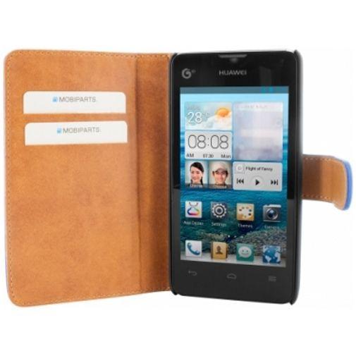 Mobiparts Premium Wallet Case Huawei Ascend Y300 Blue