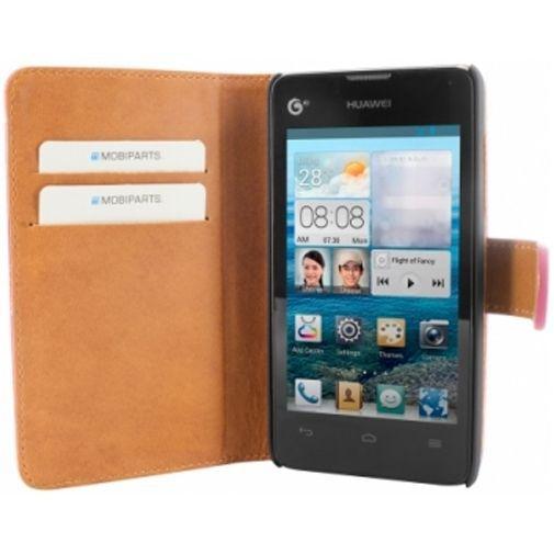 Mobiparts Premium Wallet Case Huawei Ascend Y300 Pink