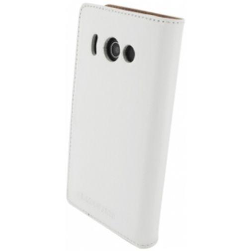 Productafbeelding van de Mobiparts Premium Wallet Case Huawei Ascend Y300 White