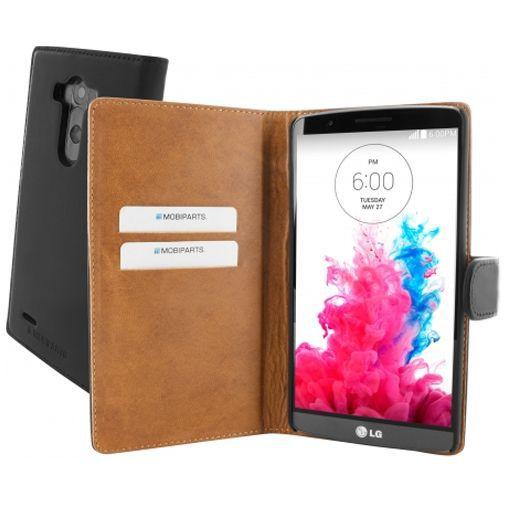 Productafbeelding van de Mobiparts Premium Wallet Case LG G3 Black